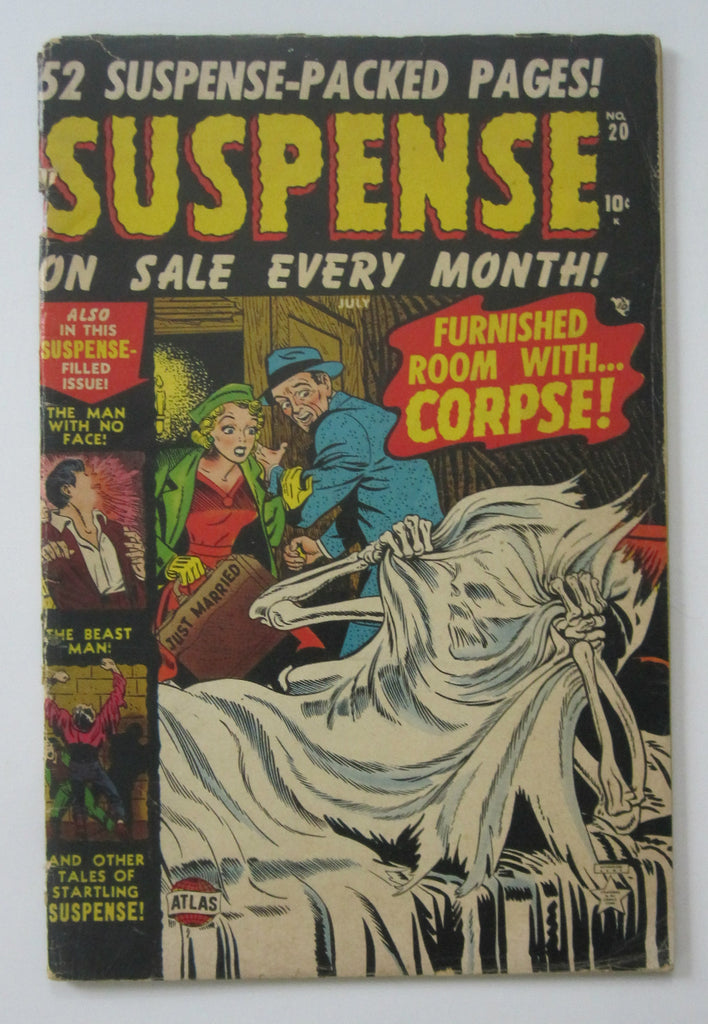 Suspense #20 (Jul 1952, Atlas) G/VG 3.0
