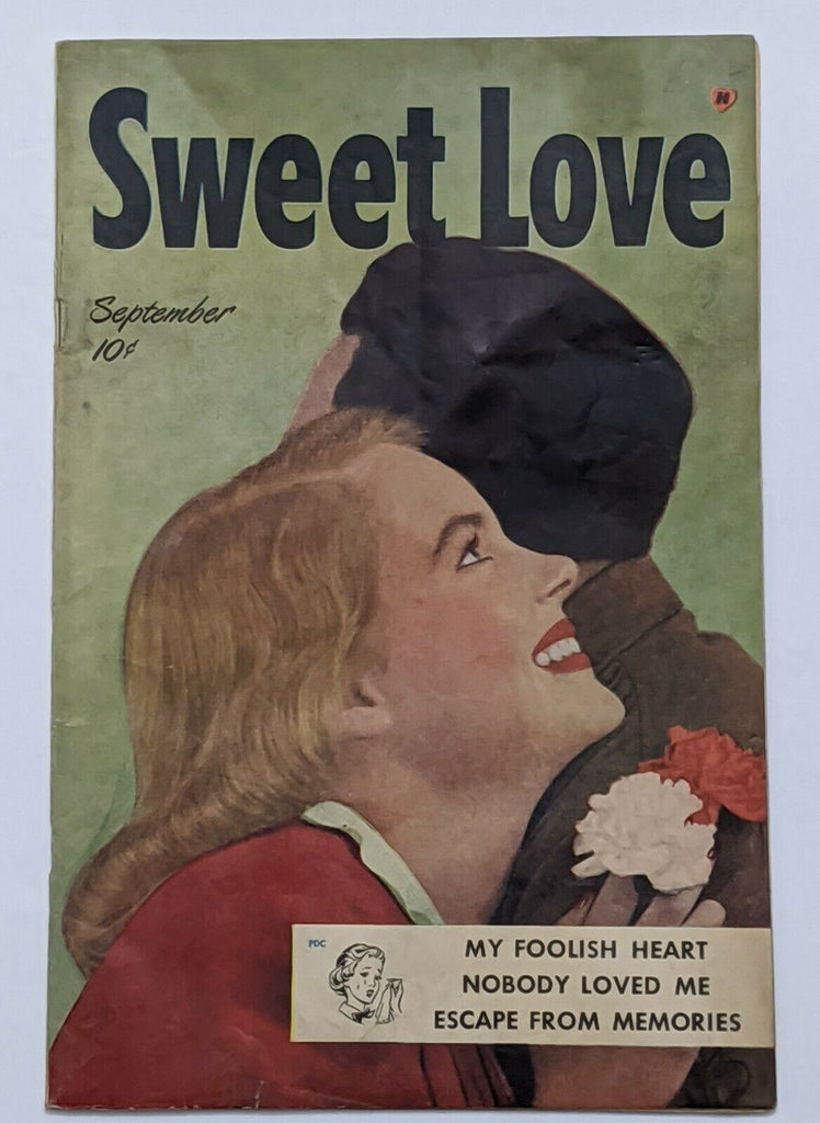 Sweet Love #1 (Sept 1940, Harvey) FN- 5.5 Lingerie Panels