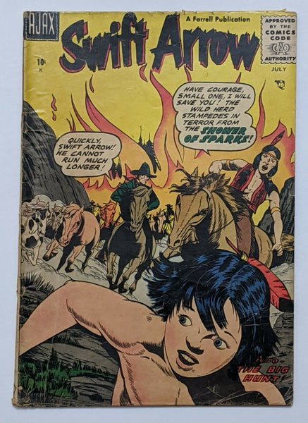 Swift Arrow #2 (Jul 1957, Ajax-Farrell) G/VG 3.0