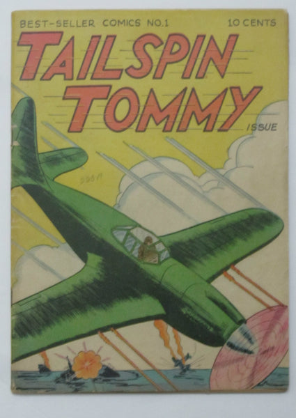 Best-Seller Comics - Tailspin Tommy #1 (1946, Service Pub) VG+ 4.5