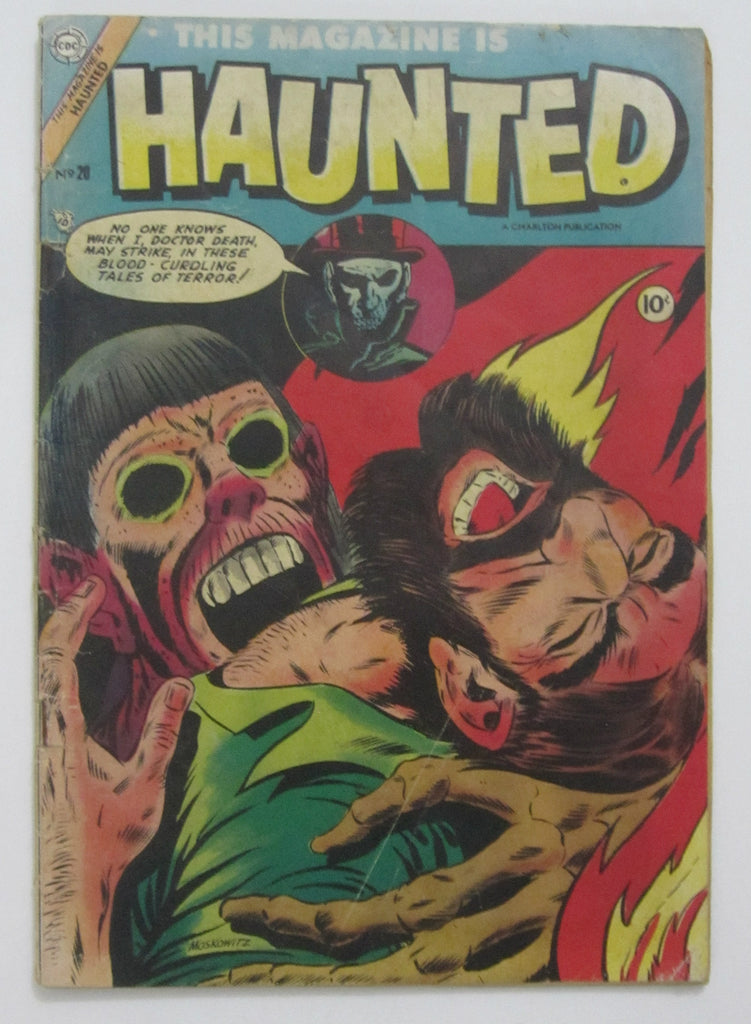 This Magazine Is Haunted #20 (Sep 1954, Charlton) G/VG 3.0