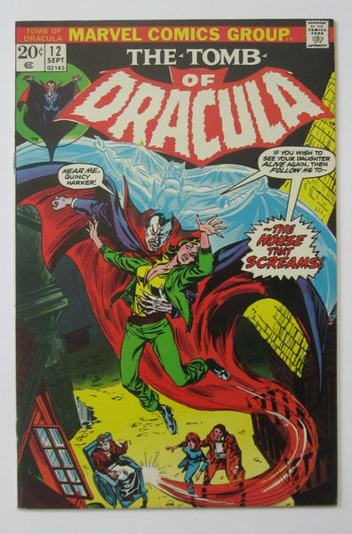 Tomb of Dracula #12 (Sep 1973, Marvel) 2nd app of Blade VF+ 8.5