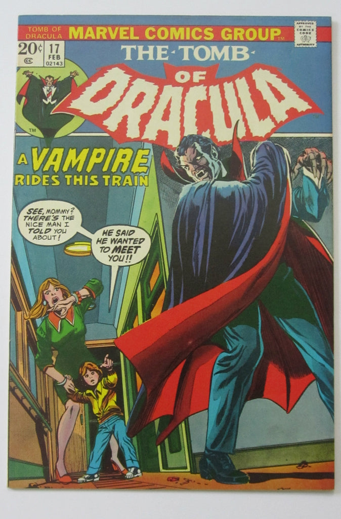 Tomb of Dracula #17 (Jan 1974, Marvel) Blade app VF/NM 9.0