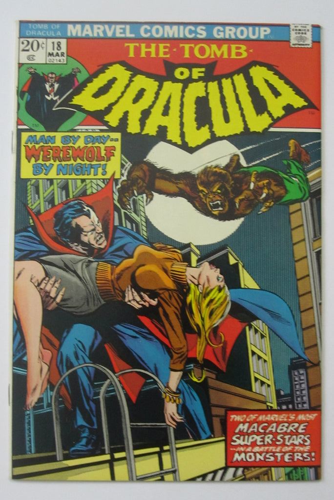 Tomb of Dracula #19 (Mar 1974, Marvel) NM- 9.2