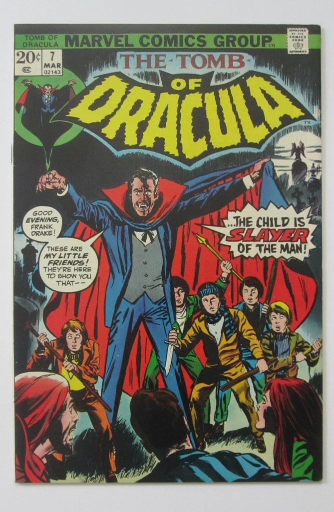Tomb of Dracula #7 (Mar 1973, Marvel) VF/NM 9.0