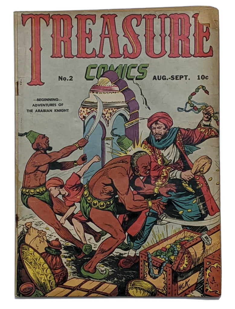 Treasure Comics #2 (Sept 1945, Prize) Good 2.0