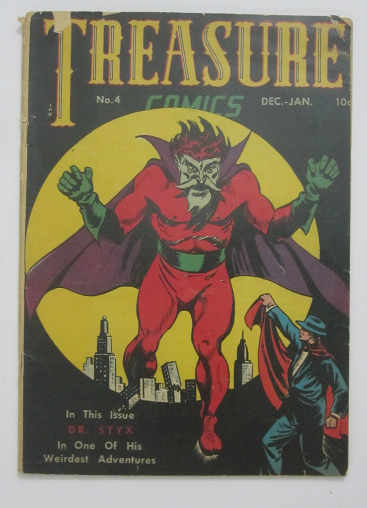 Treasure Comics #4 (Dec 1945-Jan1946, Prize) G/VG 3.0
