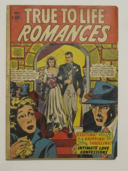 True To Life Romances #8 (Jul 1951, Star) VG- 3.5