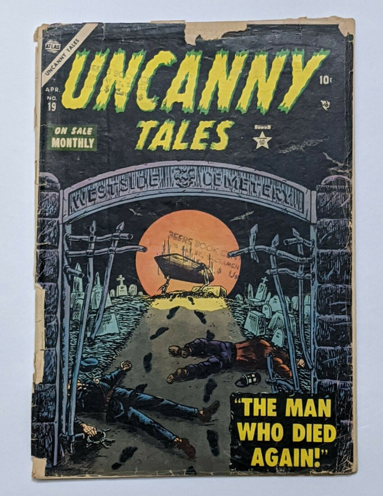 Uncanny Tales #19 (Apr 1954, Atlas) Fair/Good 1.5 Pre-Code Horror