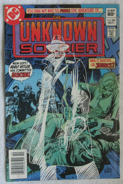 Unknown Soldier #268 (Oct 1982, DC) Last issue FN 6.0