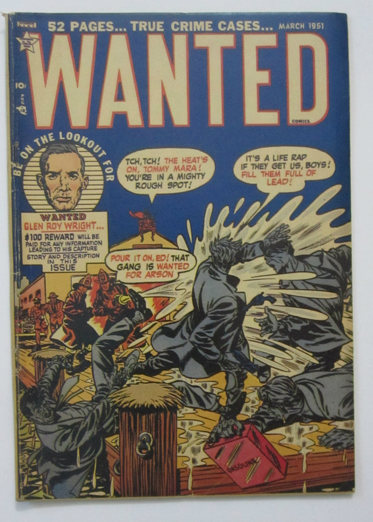 Wanted #35 (Mar 1951, Toytown) VG 4.0 Syd Shores cvr, Used in SOTI