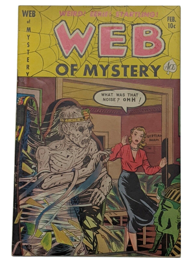 Web of Mystery #7 (Feb 1952, Ace) VG 4.0 pre- code horror