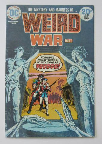 Weird War Tales #20 (Dec 1973, DC) VF+ 8.5