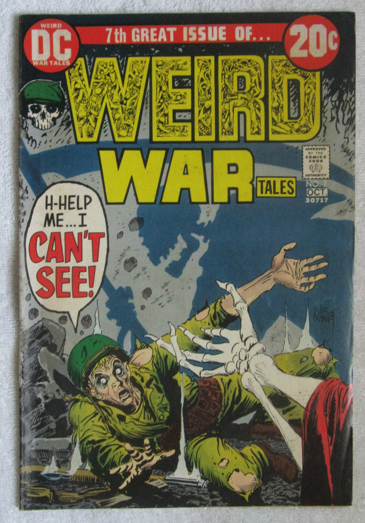 Weird War Tales #7 (Sep-Oct 1972, DC) Heath art VG/F 5.0