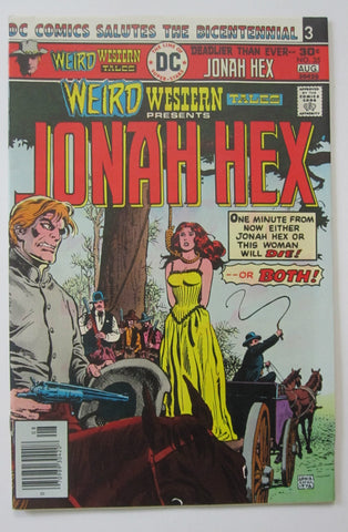 Weird Western Tales #35 (Jul/Aug 1976, DC) Jonah Hex VF+ 8.5