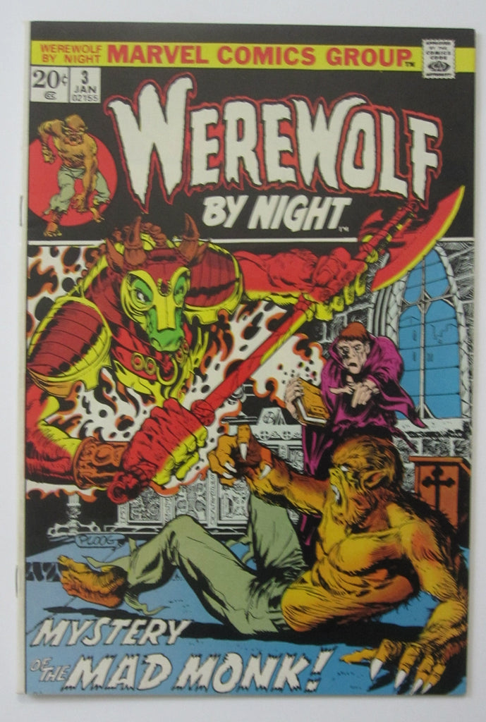 Werewolf By Night #3 (Jan 1973, Marvel) Mike Ploog cvr High Grade NM- 9.2