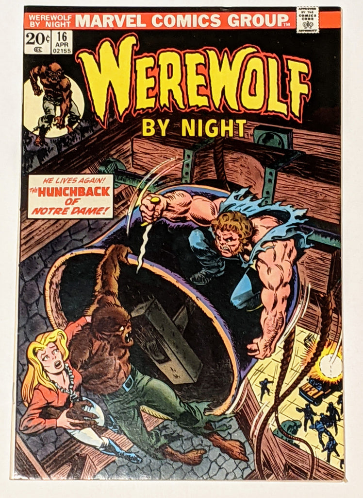 Werewolf by Night #16 (Apr 1974, Marvel) VF- 7.5 Mike Ploog cover