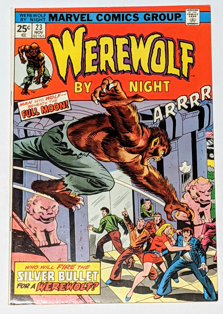 Werewolf by Night #23 (Nov 1974, Marvel) VF 8.0
