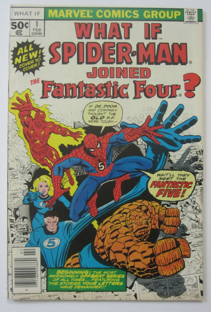 What If? #1 (Feb 1977, Marvel) High Grade NM- 9.2
