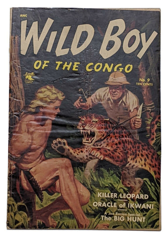 Wild Boy Of The Congo #9 (Oct 1963, St John) Good 2.0