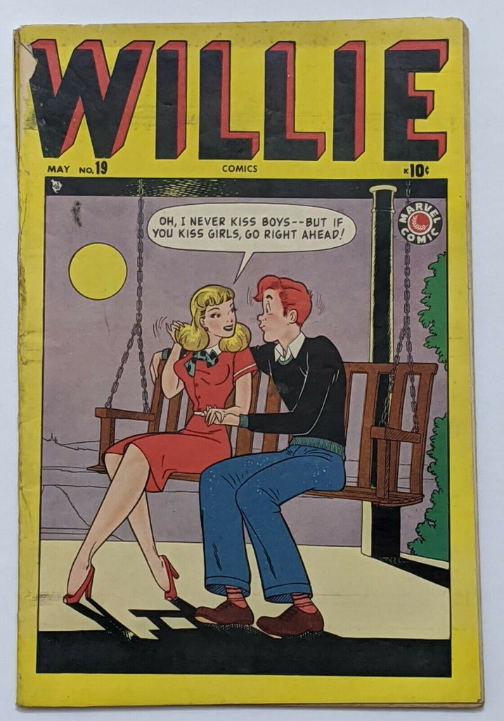 "Willie Comics #19 (May 1949, Timely) Good 2.0 Harvey Kurtzman ""Hey Look!"""