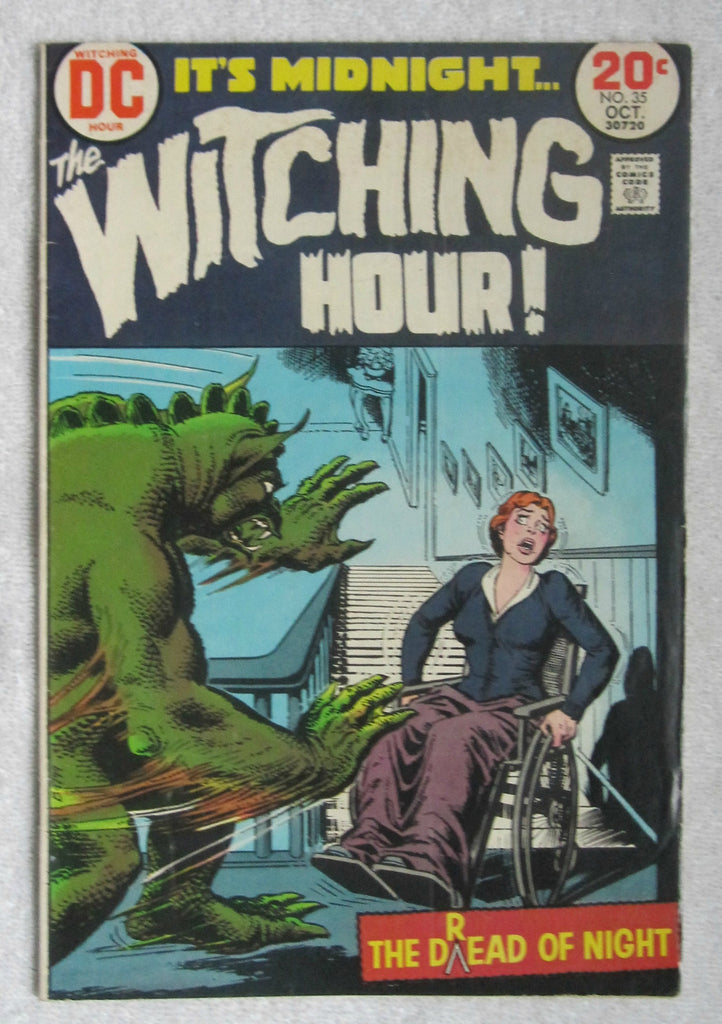 The Witching Hour #35 (Oct 1973, DC) FN- 5.5