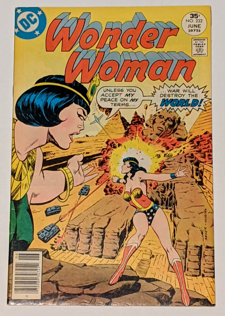 Wonder Woman #232 (Jun 1977, DC) VF- 7.5 JSA appearance