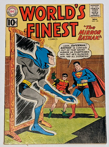 Words Finest #121 (Nov 1961, DC) VG- 3.5 Dick Dillon and Sheldon Moldoff cover