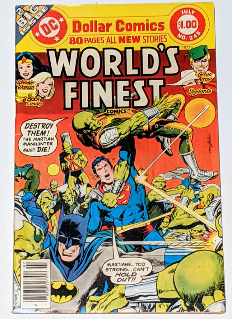 World's Finest # 245 (Jul 1977, DC) F/VF 7.0 Neal Adams cover