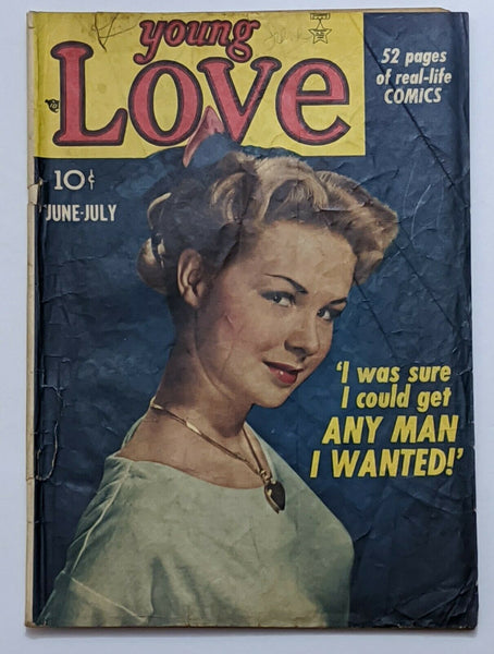 Young To Love #3 (Jul 1949, Prize) Good 2.0 Simon & Kirby art
