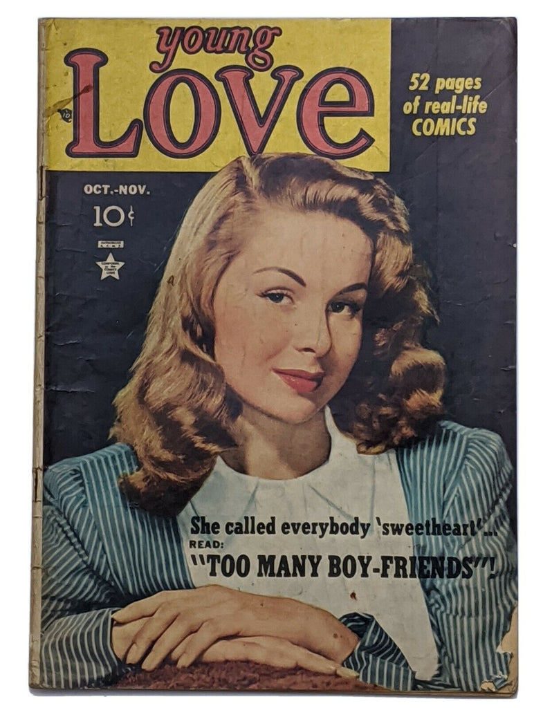 Young Love #5 (Nov 1949, Prize) G/VG 3.0 Photo cover