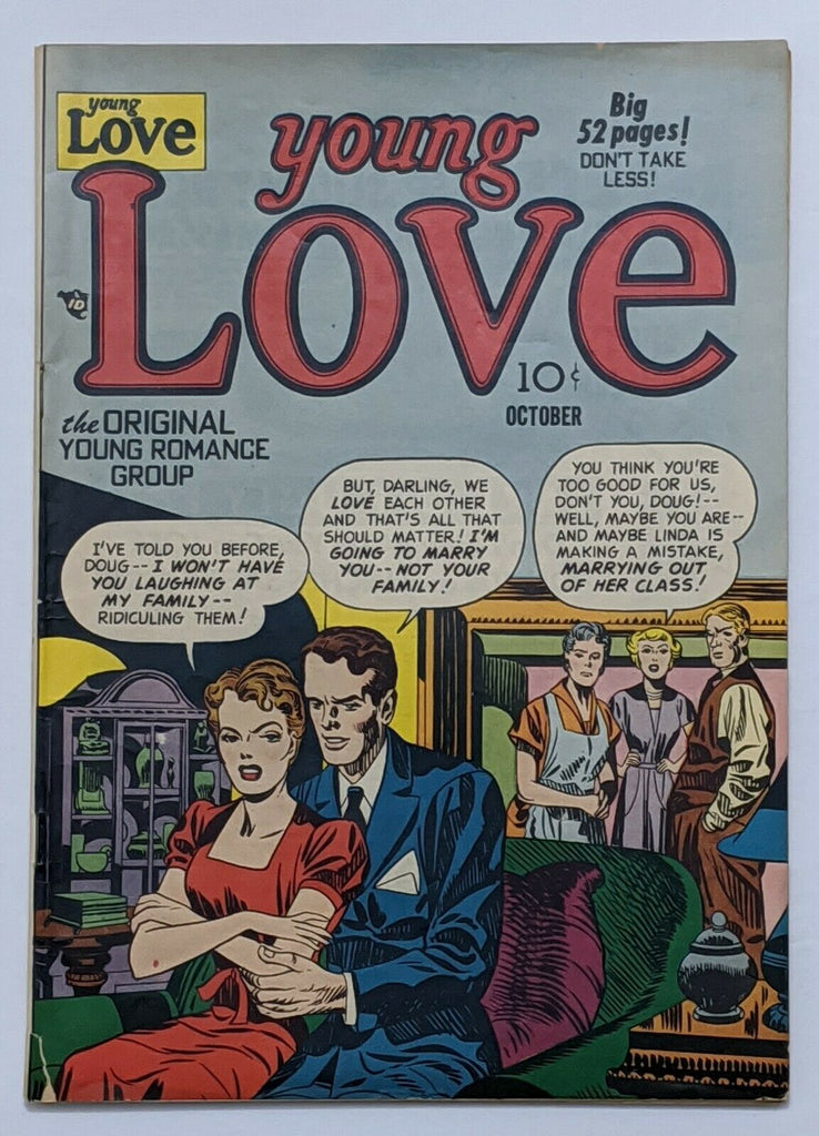 Young Love Vol 2 No 8 #14 (Oct 1950, Prize) VG/FN 5.0 Jack Kirby cvr