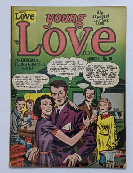 Young Love Vol 3 No 1 #19 (Mar 1951, Prize) VG- 3.5 Simon & Kirby cvr