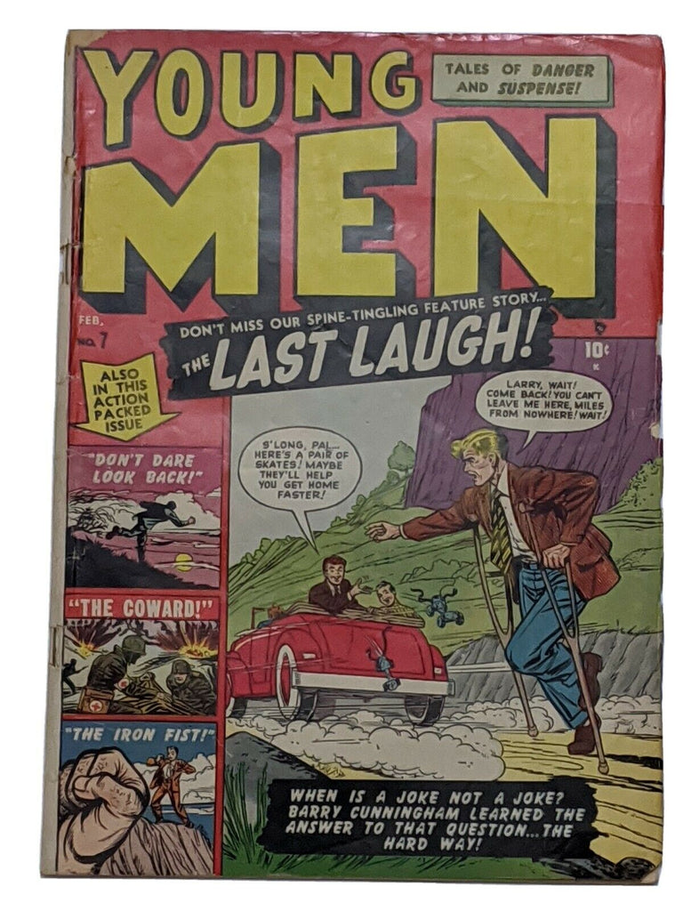 Young Men #7 (Feb 1951, Atlas) VG- 3.5 Dave Berg art