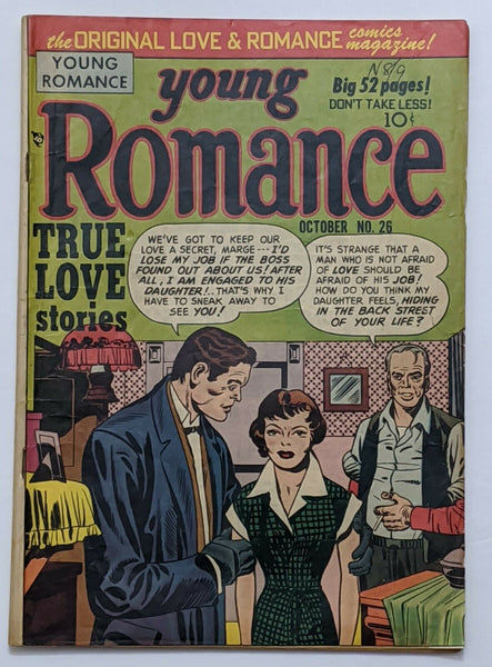 Young Romance #26 (Oct 1950, Prize) VG+ 3.5 Simon & Kirby cvr