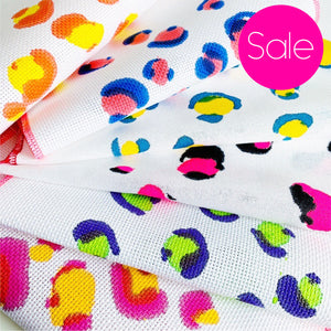 Seconds Sale - Hand Painted/Printed Fabric - Mini Kit Size