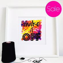Load image into Gallery viewer, Seconds Sale - Shake it off - Modern Cross Stitch Kit