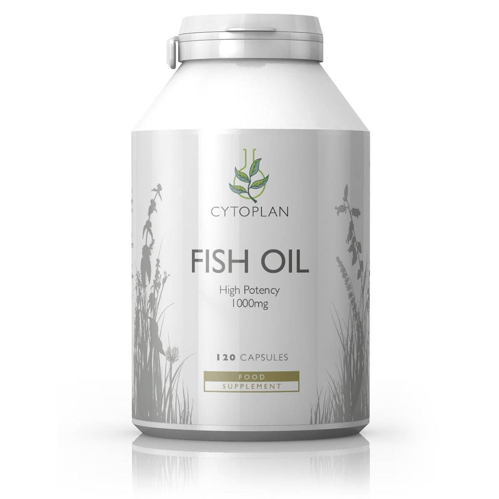 Fish Oil Capsules: High Potency (1000mg) -120 capsules-Gutology