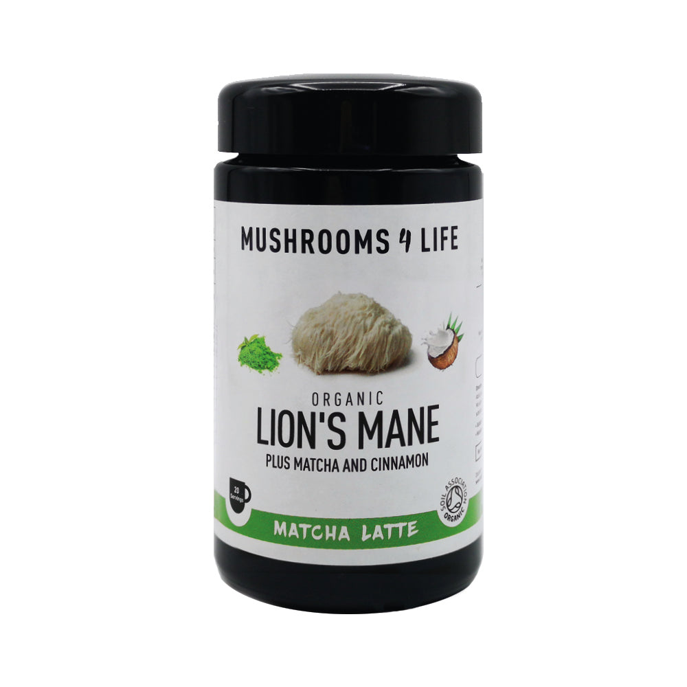Mushrooms 4 Life Organic Lion's Mane Matcha Latte