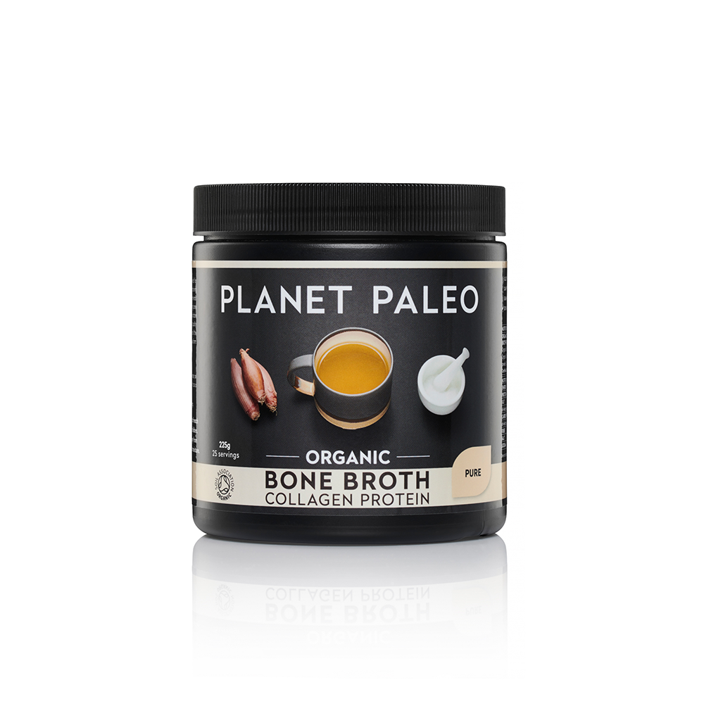 Planet Paleo Bone Broth Collagen Protein 225g