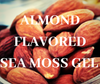 Almond Flavored Sea Moss Gel