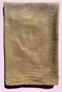 Naturally Dyed Flour Sack Towel Tan