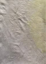 Load image into Gallery viewer, Naturally Dyed Flour Sack Towel  Yellow & Gray