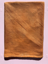 Load image into Gallery viewer, Hand Dyed Flour Sack Towel Orange