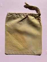 Load image into Gallery viewer, Naturally Dyed Draw String Project Bags