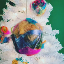 Load and play video in Gallery viewer, Wildly Felted Ornaments