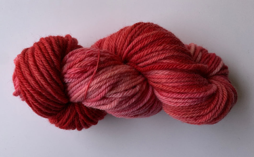Bulky Hand Dyed Wool Yarn