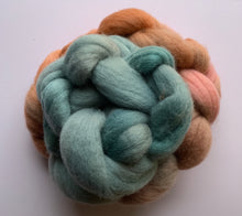 Load image into Gallery viewer, Hand Dyed Falkland Roving - You're a Mermaid Baby