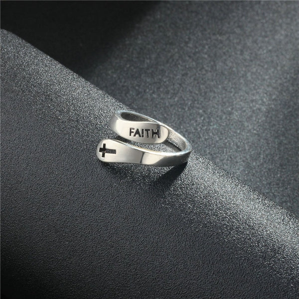 Limitless Faith Silver Ring