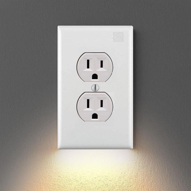 MADEYALOOK™ - Wall Plate with LED Night Lights